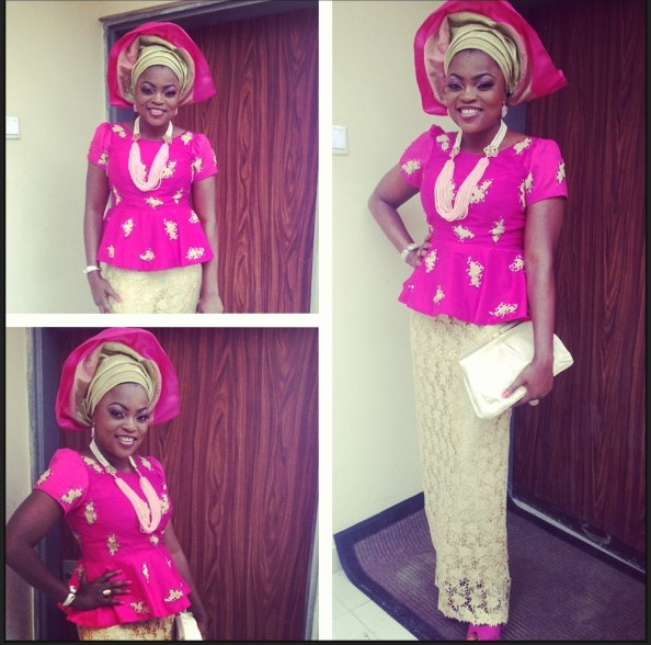 Funke Akindele | Makeup by Jide of St. Ola