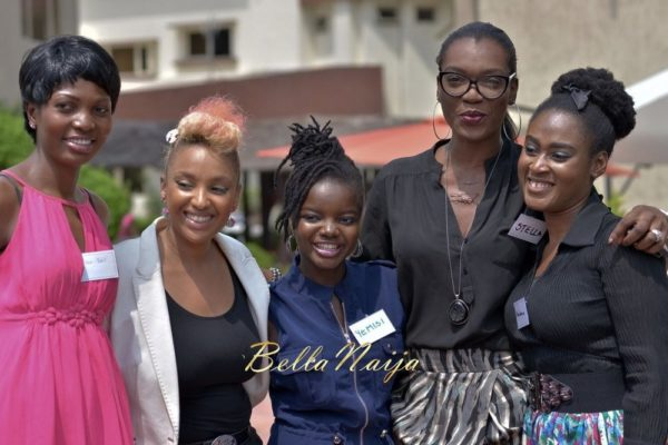 Teniola BBN, LolaMaja, Yemisi Dada,Stella Marris &  Barara Onianwah