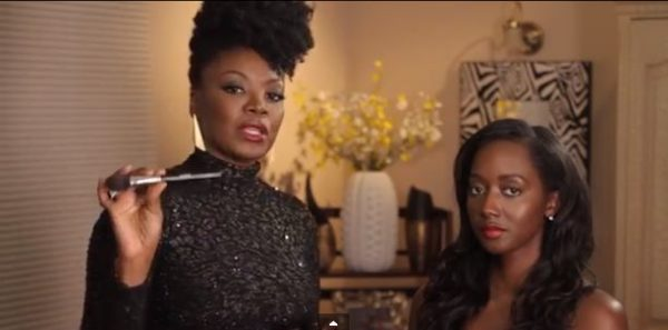 How to Apply Blush for African Americans - BellaNaija - November 2013