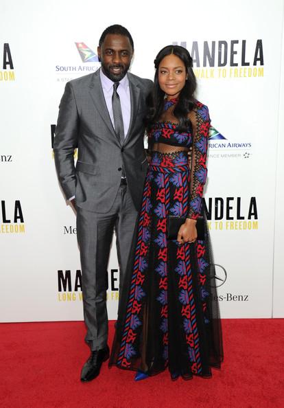 Idris Elba & Naomie Harris at the Mandela - Long Walk to Freedom New York Premiere - November 2013 - BellaNaija