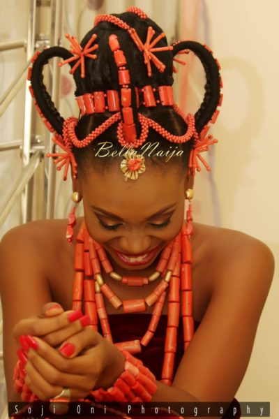 Ivie Wole Soji Oni Edo Yoruba Wedding BellaNaija Nigerian_1