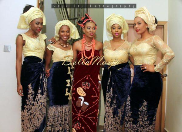 Ivie Wole Soji Oni Edo Yoruba Wedding BellaNaija Nigerian_5