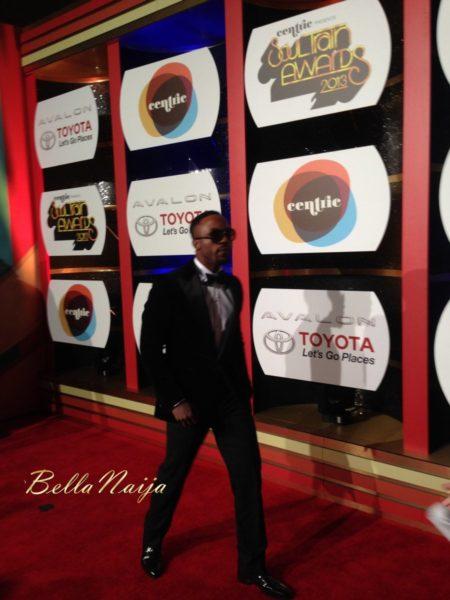 Iyanya at the 2013 Soul Train Awards - November 2013 - BellaNaija003