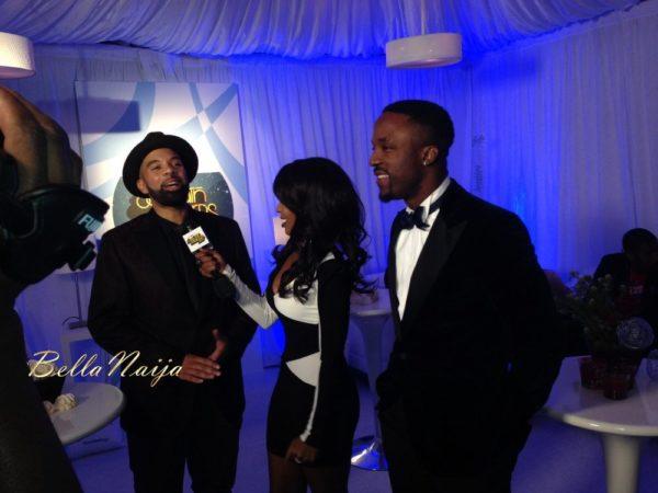 Iyanya at the 2013 Soul Train Awards - November 2013 - BellaNaija004