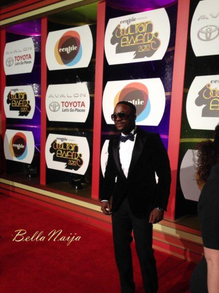 Iyanya at the 2013 Soul Train Awards - November 2013 - BellaNaija005