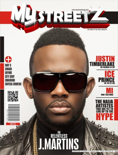 J Martins - MyStreetz Magazine - November 2013 - BellaNaija