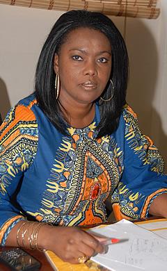 Joyce Ababio for Glitz Africa Fashion Week 2013 Awards - BellaNaija - November 2013