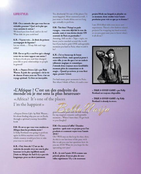 Kelly Rowland for FashIzBlack Magazine NovDec 2013 - BellaNaija - November 2013 (4)