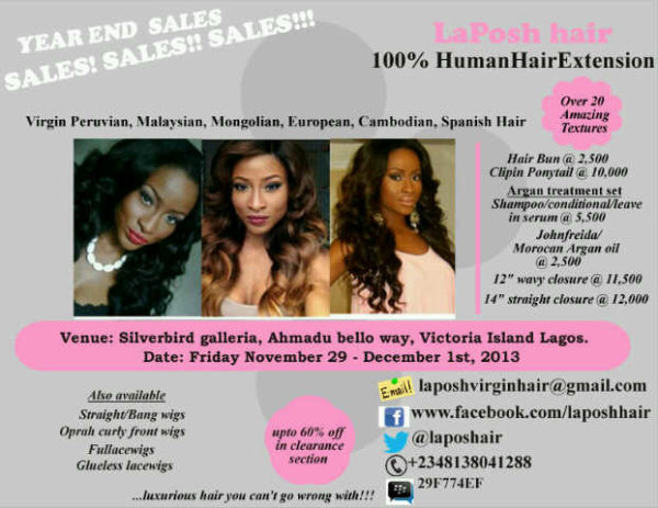 La Posh Hair - November 2013 - BellaNaija