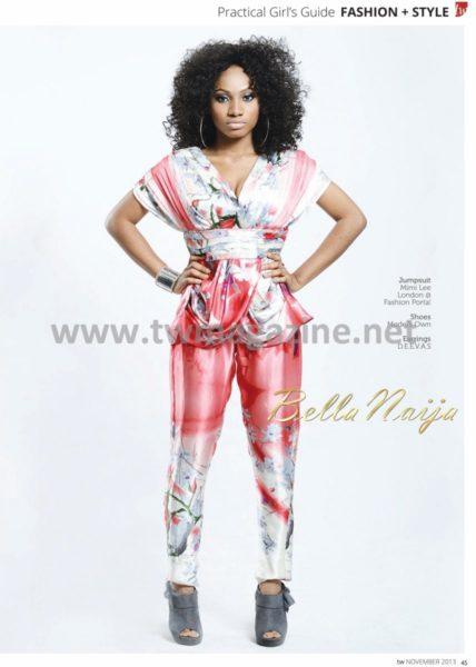 Lanre DaSilva Ajayi covers TW Magazine's November Fashion Issue - November 2013 - BellaNaija002
