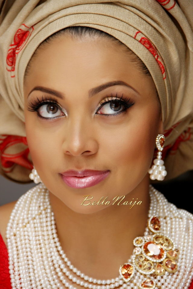 BN Bridal Beauty: Lola Omotayo-Okoyes Traditional Wedding ...