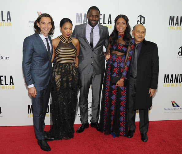 Justin Chadwick (Director), Terry Pheto, Idris Elba, Naomie Harris &  Anant Singh (Producer)