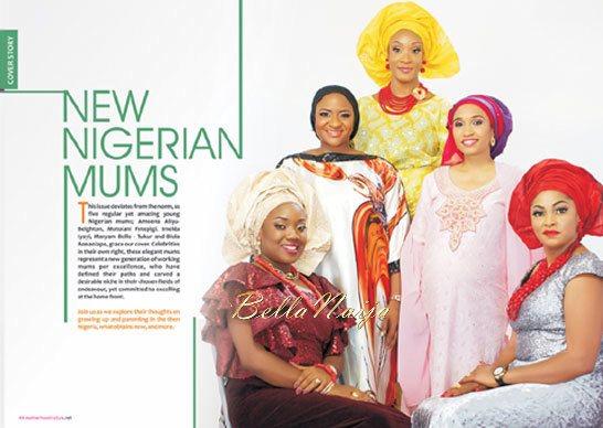 Motherhood In-Style Magazine - November 2013 Issue - BellaNaija 02