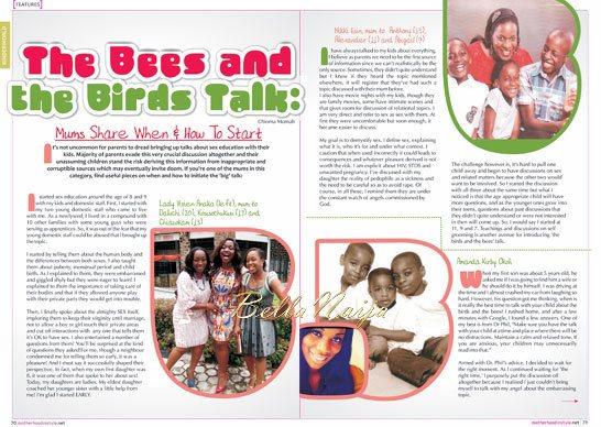 Motherhood In-Style Magazine - November 2013 Issue - BellaNaija 05