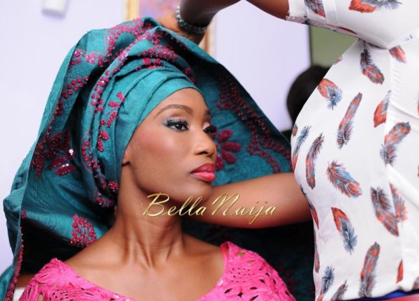 Nigerian Muslim Wedding BellaNaija Yoruba Traditional Wedding Engagement PeacockTAP_4859