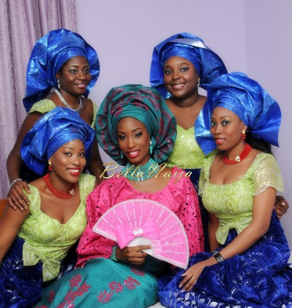 Nigerian Muslim Wedding BellaNaija Yoruba Traditional Wedding Engagement PeacockTAP_4990