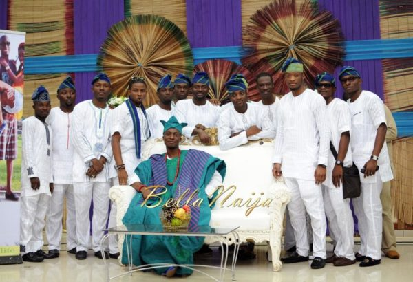 Nigerian Muslim Wedding BellaNaija Yoruba Traditional Wedding Engagement PeacockTAP_5031