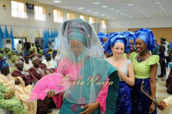 Nigerian Muslim Wedding BellaNaija Yoruba Traditional Wedding Engagement PeacockTAP_5124