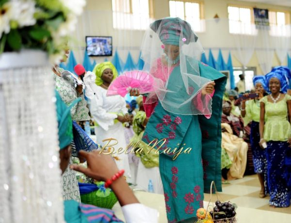 Nigerian Muslim Wedding BellaNaija Yoruba Traditional Wedding Engagement PeacockTAP_5126