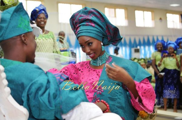 Nigerian Muslim Wedding BellaNaija Yoruba Traditional Wedding Engagement PeacockTAP_5136