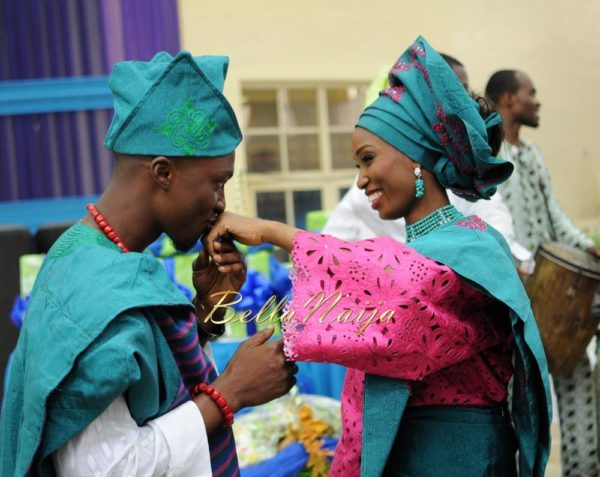 Nigerian Muslim Wedding BellaNaija Yoruba Traditional Wedding Engagement PeacockTAP_5158