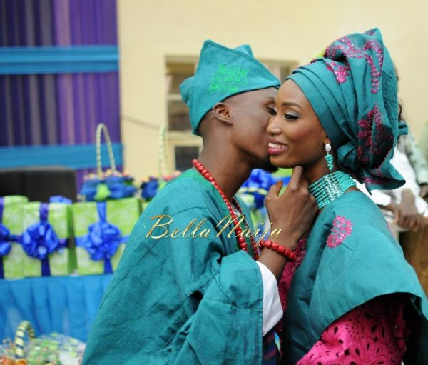 Nigerian Muslim Wedding BellaNaija Yoruba Traditional Wedding Engagement PeacockTAP_5164