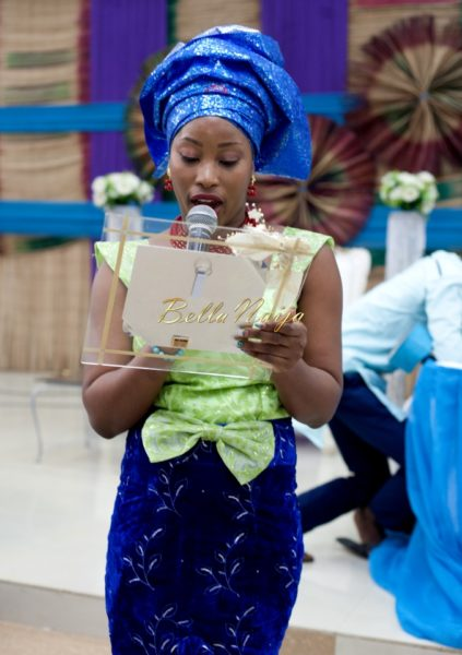 Nigerian Muslim Wedding BellaNaija Yoruba Traditional Wedding Engagement Peacock_MG_3964