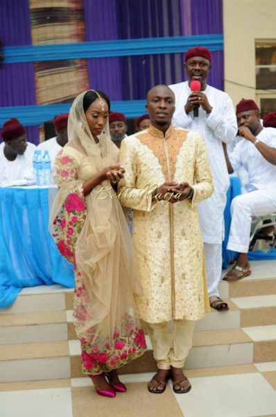 Nigerian Muslim Wedding Bollywood Nikkah BellaNaijaTAP_5297