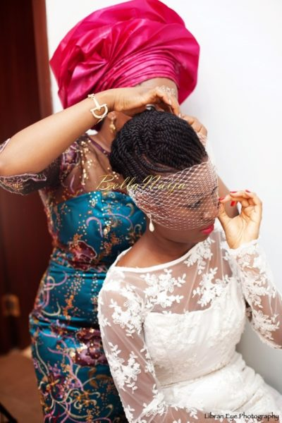 Nigerian Natural Hair Bride BellaNaija Weddings 0