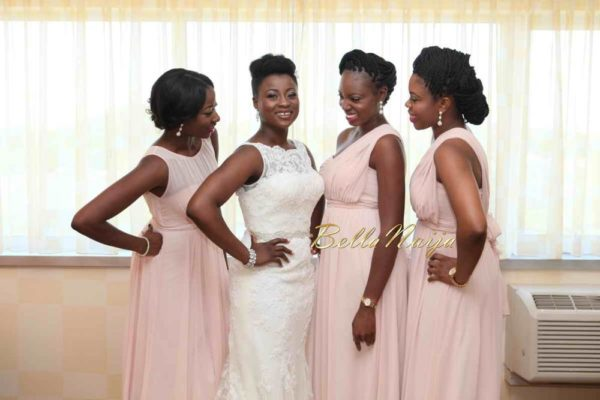 Nigerian Natural Hair Bride BellaNaija Weddings 2