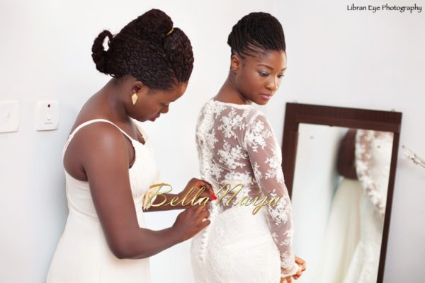Nigerian Natural Hair Bride BellaNaija Weddings 4