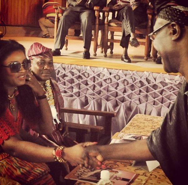 Omotola Jalade Ekeinde - Chieftancy Title in Ondo - November 2013 - BellaNaija 02