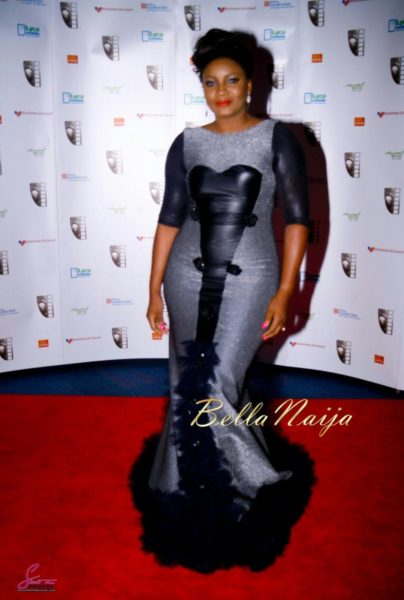 Omotola Jalade-Ekeinde awarded the Ebony Vanguard Award at MVIsa Awards in UK - November 2013 - BellaNaija002