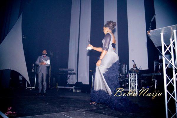 Omotola Jalade-Ekeinde awarded the Ebony Vanguard Award at MVIsa Awards in UK - November 2013 - BellaNaija003