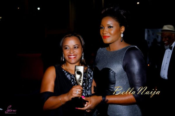 Omotola Jalade-Ekeinde awarded the Ebony Vanguard Award at MVIsa Awards in UK - November 2013 - BellaNaija005