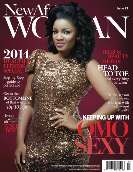 Omotola Jalade Ekeinde on the Cover of New African Woman - November 2013 - BellaNaija 01