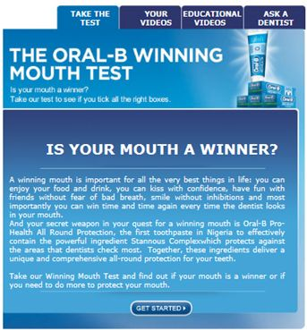 Oral B Winning Mouth Competition Facebook Page - BellaNaija - November 2013002