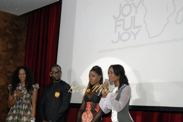 Osas Ighodaro launches Joyful Joy Foundation - November 2013 - BellaNaija008