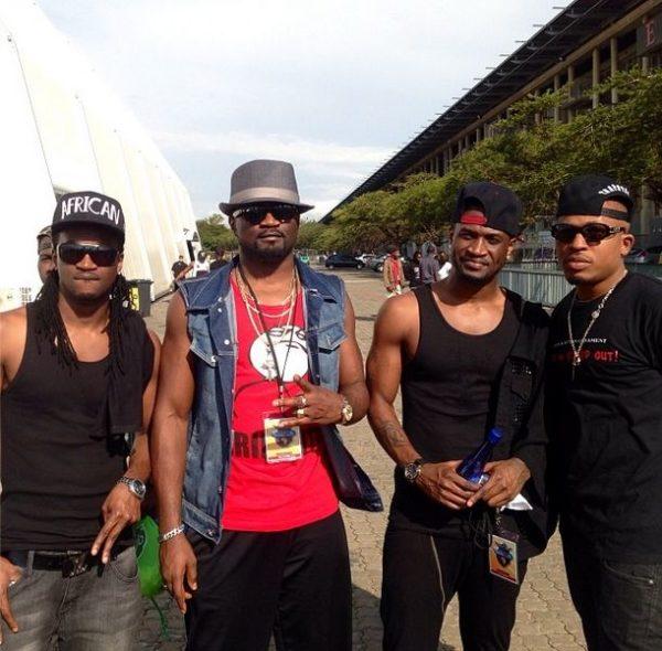 Paul Okoye, Jude Okoye, Peter Okoye & Naeto C