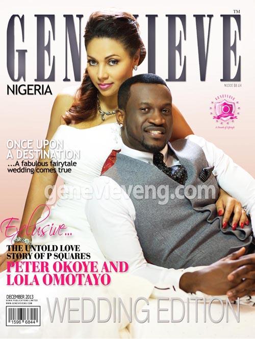 Peter Okoye & Lola Omotayo-Okoye - November 2013 - BellaNaija 01