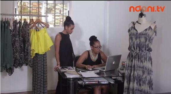 Republic of Foreigner on NdaniTV's Fashion Insider - BellaNaija - November 2013
