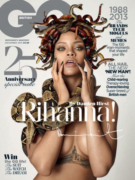 Rihanna - British GQ 25th Anniversary Issue - November 2013 - BellaNaija 01
