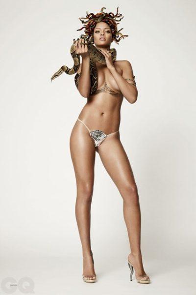 Rihanna - British GQ 25th Anniversary Issue - November 2013 - BellaNaija 05