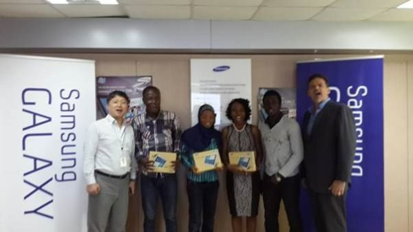 Samsung Mobile Nigeria Rewards the Samsung Galaxy Tab 3 - Bellanaija - November 2013001
