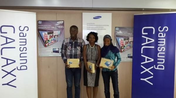 Samsung Mobile Nigeria Rewards the Samsung Galaxy Tab 3 - Bellanaija - November 2013002