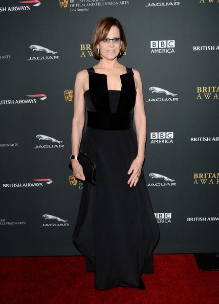 Sigourney Weaver in Giorgio Armani