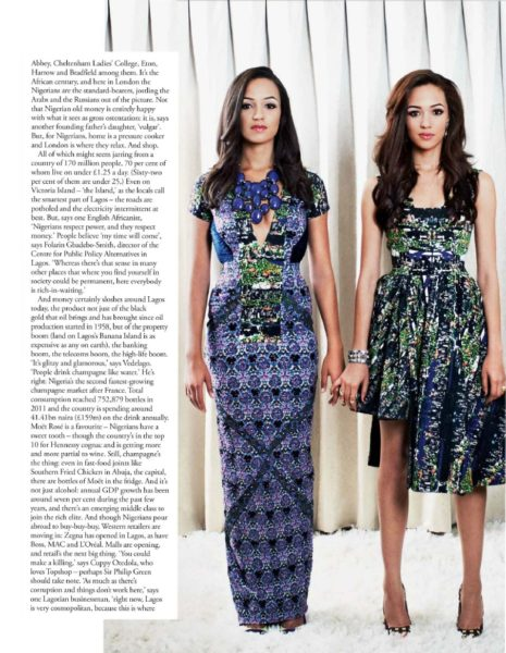 Tatler UK December 2013 Nigeria Money Set 005