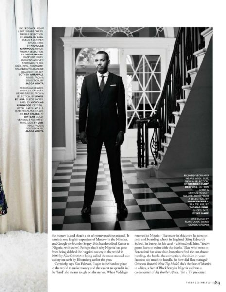 Tatler UK December 2013 Nigeria Money Set 006