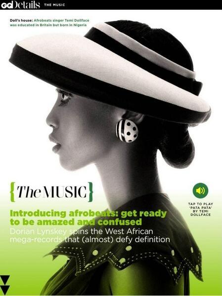 Temi Dollface - November 2013 - British GQ 25th Anniversary Issue - BellaNaija 01
