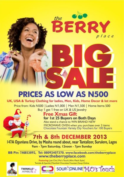 The Berry Place - The Big Place - November 2013 - BellaNaija